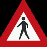علائم راهنمایی و رانندگی عبور عابر پیاده
